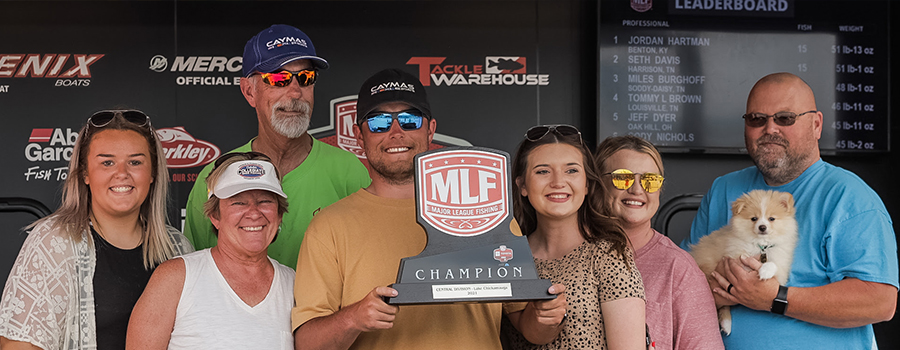 Hartman Wins Toyota Series Event on Lake Chickamauga