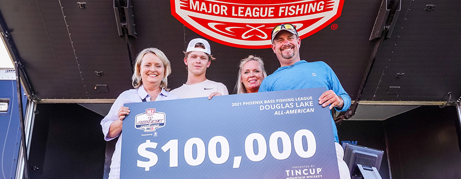 Tennessee's Grimm Earns Win at 2021 Phoenix Bass Fishing League  All-American Championship at Douglas