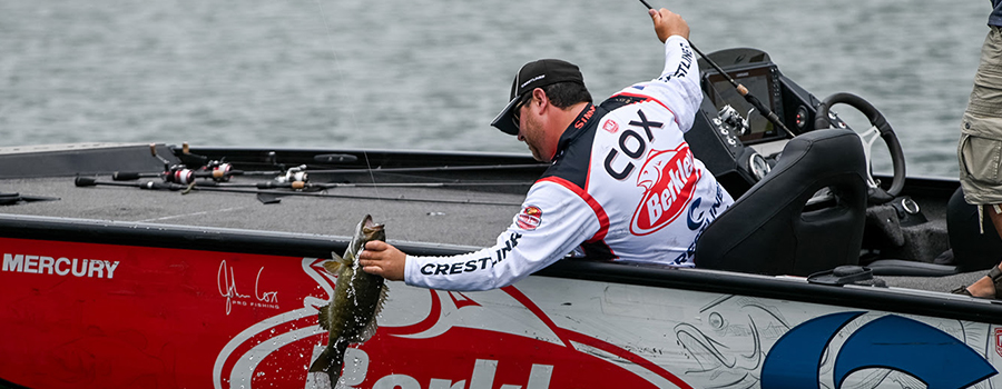 John Cox Tops Group B at Major League Fishing Bass Pro Tour Stage Five at St. Lawrence River