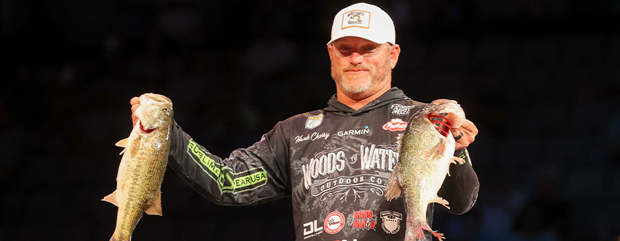 Cherry Takes Lead On Weather-Shortened Day At Bassmaster Classic On Lake Ray Roberts