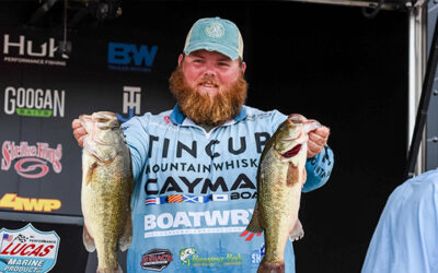 Lawson Hibdon Pads Lead at Tackle Warehouse Pro Circuit Stop 5 Presented by Lucas Oil at Potomac River