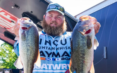 Lawson Hibdon Leads Day 1 of Tackle Warehouse Pro Circuit Stop 5 Presented at Potomac River