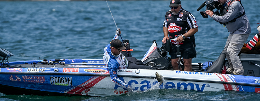 Wheeler Wins Group A Qualifying Round at Major League Fishing Bass Pro Tour Stage Five at St. Lawrence River