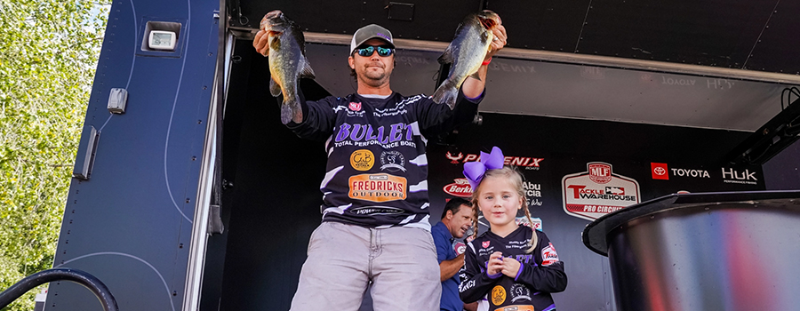 Mitch Crane Wins Knockout Round at MLF Tackle Warehouse Pro Circuit TITLE