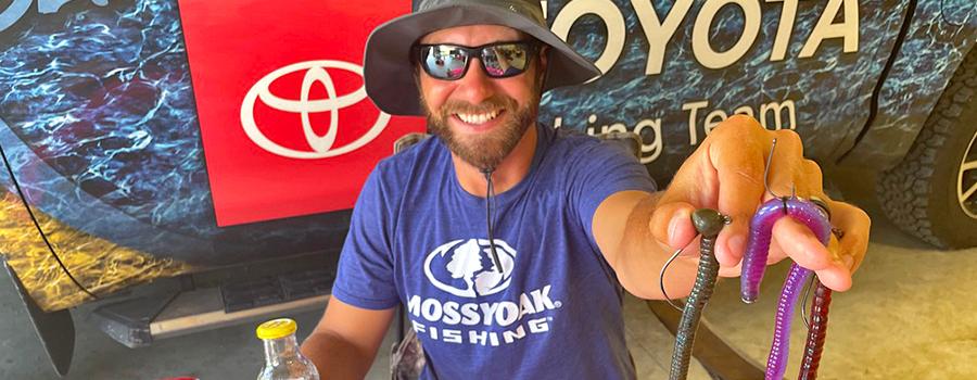 Brandon Lester on Big Summer Worms