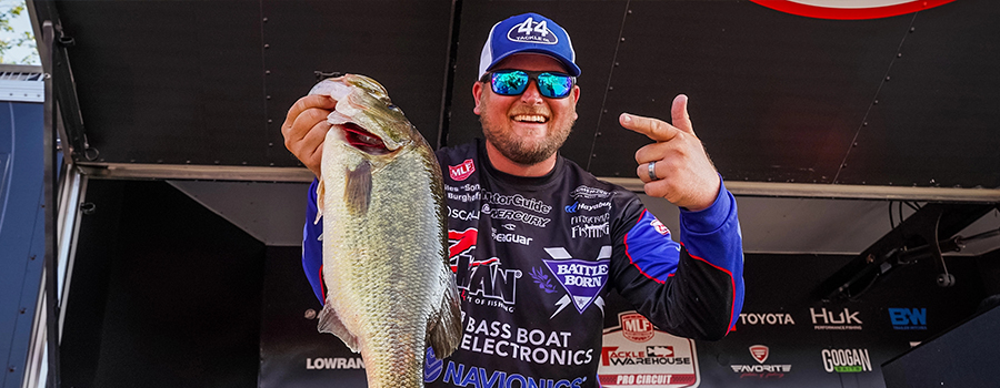 Burghoff Wins Group A Qualifying Round at MLF Tackle Warehouse Pro Circuit TITLE