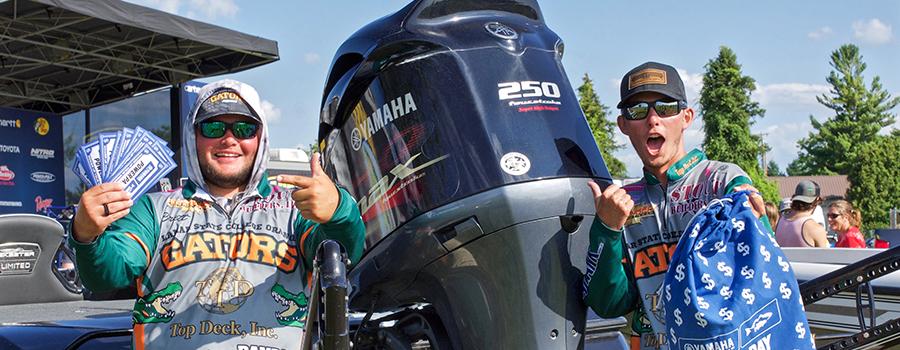Lamar State Anglers Pocket $5,000 of Yamaha Power Pay