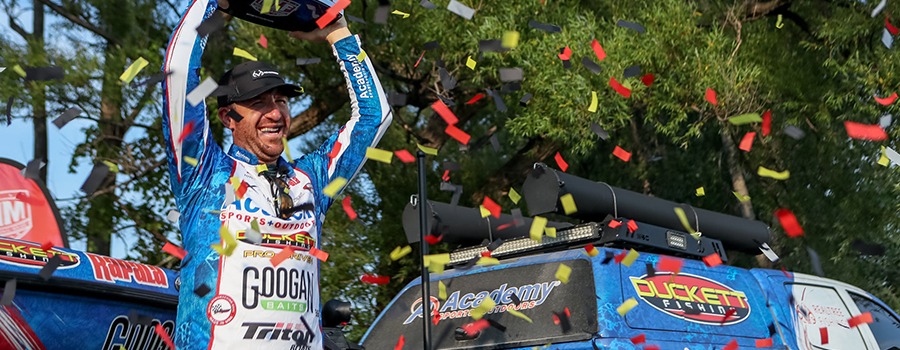 Wheeler Wins Again! Tennessee Angler Wins Third Event of Season at MLF Bass Pro Tour Toyota Stage Six at Lake Champlain