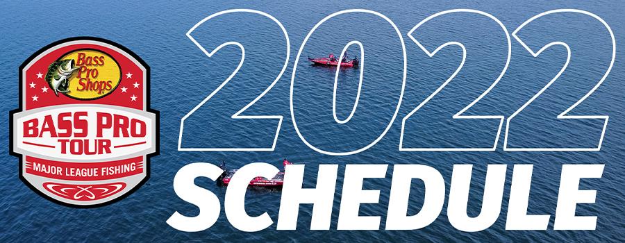 Major League Fishing Announces 2022 Bass Pro Tour Schedule
