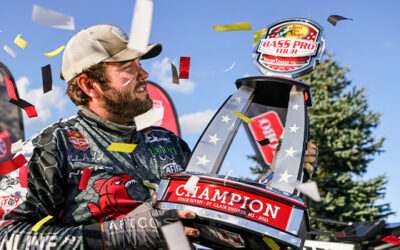 Dayton, Tennessee Angler Boats Heaviest Championship Round Weight in Bass Pro Tour History – 58 Bass Weighing 168-11 – to Earn First Career Victory, $100,000