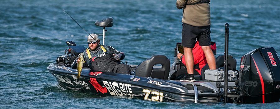 Neal Cruises to Record-Breaking Qualifying Round Win at MLF Bass Pro Tour Stage Seven at Lake St. Clair