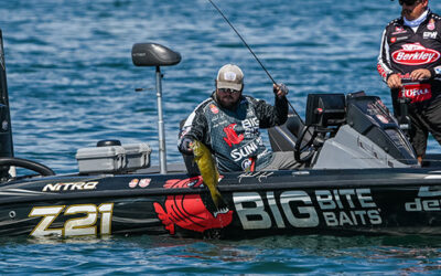Tennessee's Michael Neal Leads First Day at MLF Bass Pro Tour Stage Seven at Lake St. Clair