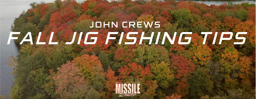 FALL JIG FISHING TIPS w/ John Crews
