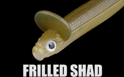 FRILLED SHAD/DEPS/New Product