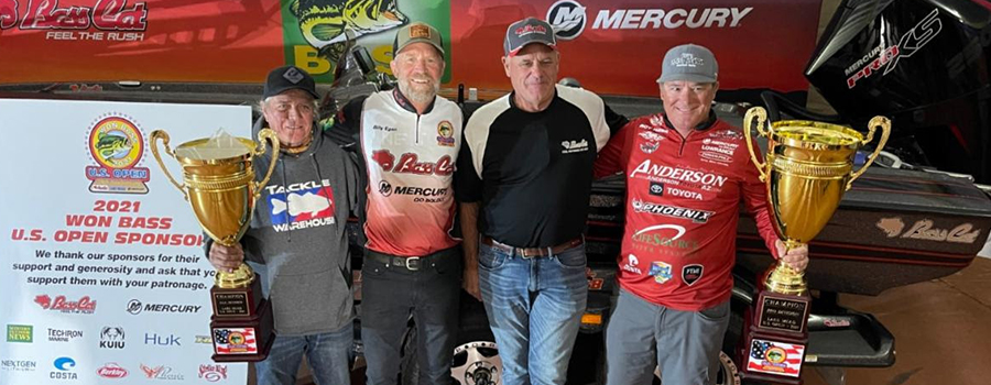 Roy Hawk Comes from 12th Place to Win 2021 WON Bass U.S. Open